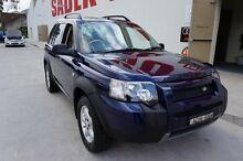 2004 Land Rover Freelander SE TD4 (4x4) Blue 5 Speed Auto Steptronic Wagon Milperra Bankstown Area Preview