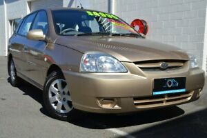 2004 Kia Rio MY04 LS Gold 4 Speed Automatic Hatchback Ashmore Gold Coast City Preview