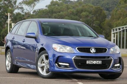 2015 Holden Commodore VF II MY16 SV6 Sportwagon Blue 6 Speed Sports Automatic Wagon West Gosford Gosford Area Preview
