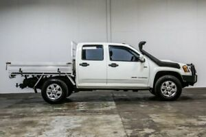 2011 Holden Colorado RC MY11 DX White 5 Speed Manual Cab Chassis