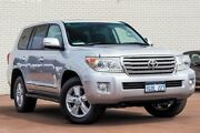 2014 Toyota Landcruiser VDJ200R MY13 Sahara Silver 6 Speed Sports Automatic Wagon Bayswater Bayswater Area Preview