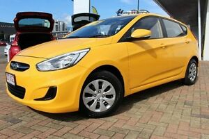2015 Hyundai Accent RB2 MY15 Active Yellow 4 Speed Sports Automatic Hatchback Parramatta Park Cairns City Preview
