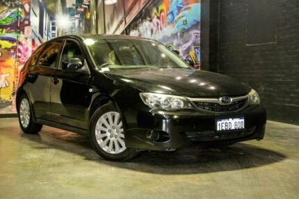2011 Subaru Impreza G3 MY11 R AWD Special Edition Black 5 Speed Manual Hatchback