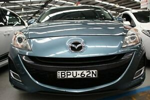 2010 Mazda 3 BL10L1 SP25 Activematic Blue 5 Speed Sports Automatic Hatchback Maryville Newcastle Area Preview