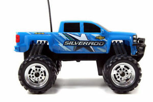 ****Recharger Just Trucks Blue Chevy Silverado Z7 New In Box**