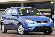 2010 Kia Rio JB MY10 S Sapphire Blue 4 Speed Automatic Hatchback Frankston Frankston Area Preview