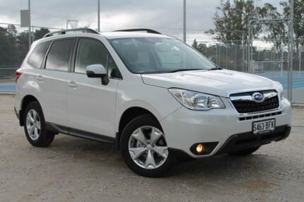 2015 Subaru Forester MY15 2.5I-L Crystal White Continuous Variable Wagon Tanunda Barossa Area Preview