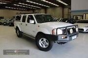 2006 Nissan Navara D22 DX White Manual Utility Laverton North Wyndham Area Preview