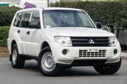 2011 Mitsubishi Pajero NT MY11 GL White 5 Speed Manual Wagon