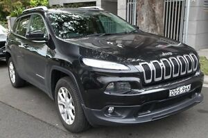 2014 Jeep Cherokee KL MY15 Longitude (4x4) Black 9 Speed Automatic Wagon Mosman Mosman Area Preview