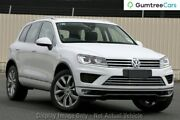 2018 Volkswagen Touareg 7P MY18 V6 TDI Tiptronic 4MOTION Pure White 8 Speed Sports Automatic Wagon Liverpool Liverpool Area Preview