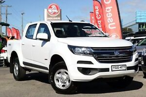 2016 Holden Colorado RG MY17 LS Crew Cab White 6 Speed Sports Automatic Cab Chassis Liverpool Liverpool Area Preview