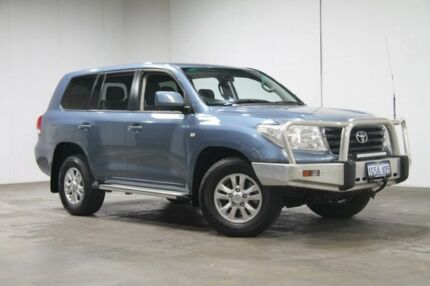 2011 Toyota Landcruiser UZJ200R MY10 GXL Blue 5 Speed Sports Automatic Wagon Welshpool Canning Area Preview