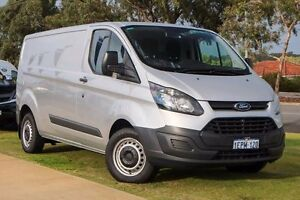 2014 Ford Transit Custom VN 330L Low Roof LWB Silver 6 Speed Manual Van Wangara Wanneroo Area Preview