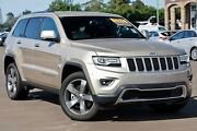 2014 Jeep Grand Cherokee WK MY15 Limited Gold 8 Speed Sports Automatic Wagon Run-o-waters Goulburn City Preview