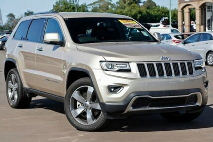 2014 Jeep Grand Cherokee WK MY15 Limited Gold 8 Speed Sports Automatic Wagon