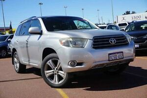 2008 Toyota Kluger GSU45R KX-S AWD Silver 5 Speed Sports Automatic Wagon Westminster Stirling Area Preview
