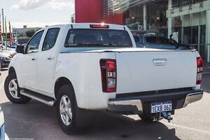 2015 Isuzu D-MAX TF MY15 LS-U HI-Ride (4x4) White 5 Speed Automatic Crew Cab Utility Wangara Wanneroo Area Preview