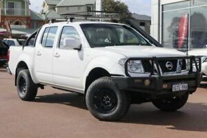 2011 Nissan Navara D40 ST White 5 Speed Automatic Utility Clarkson Wanneroo Area Preview