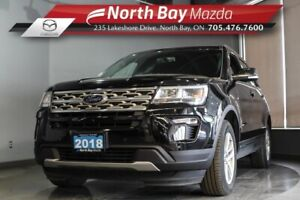 2018 Ford Explorer XLT AWD 7 Passenger with Heated Seats, Blueto