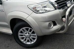 2012 Toyota Hilux Silver Automatic Utility Keysborough Greater Dandenong Preview