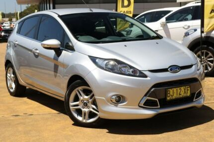 2011 Ford Fiesta WT Zetec PwrShift Silver 6 Speed Sports Automatic Dual Clutch Hatchback Lansvale Liverpool Area Preview