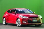 2012 Hyundai Veloster FS Coupe Red 6 Speed Manual Hatchback Ringwood East Maroondah Area Preview