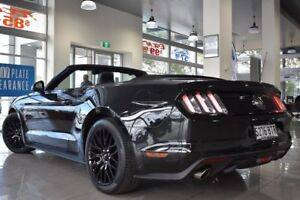 2015 Ford Mustang FM GT SelectShift Black 6 Speed Sports Automatic Convertible St Marys Mitcham Area Preview