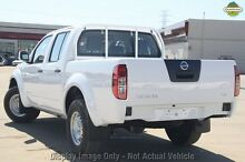 2013 Nissan Navara D40 S7 MY12 RX White 5 Speed Automatic Utility Cannington Canning Area Preview