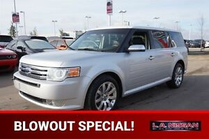 2009 Ford Flex AWD LIMITED Leather,  Heated Seats,  3rd Row,  Bl