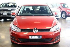 2013 Volkswagen Golf VII 90TSI DSG Red 7 Speed Sports Automatic Dual Clutch Hatchback Frankston Frankston Area Preview