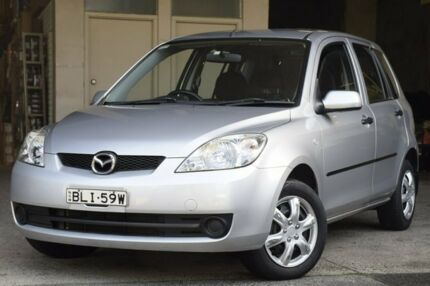 2007 Mazda 2 DY MY05 Upgrade Neo Silver 4 Speed Auto Activematic Hatchback Brookvale Manly Area Preview