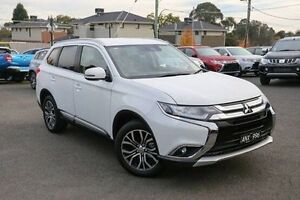 2016 Mitsubishi Outlander ZK MY17 LS 4WD Safety Pack White 6 Speed Constant Variable Wagon Nunawading Whitehorse Area Preview