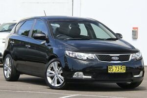 2012 Kia Cerato TD MY12 SLi Black 6 Speed Automatic Hatchback Dee Why Manly Area Preview
