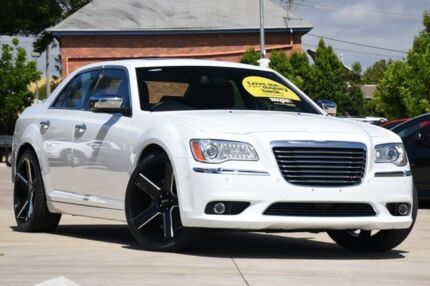 2014 Chrysler 300 LX MY14 C E-Shift Luxury Cream 8 Speed Sports Automatic Sedan Toowoomba Toowoomba City Preview
