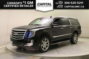 2018 Cadillac Escalade ESV Luxury 4WD*Leather*