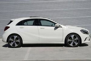 2016 Mercedes-Benz A200 White Sports Automatic Dual Clutch Hatchback Ringwood East Maroondah Area Preview