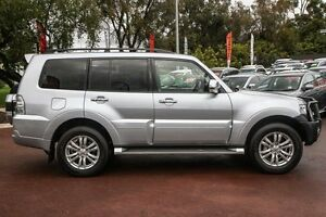 2016 Mitsubishi Pajero NX MY16 GLX Silver 5 Speed Sports Automatic Wagon Wilson Canning Area Preview
