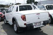 2009 Mitsubishi Triton ML MY09 GLX-R Double Cab White 4 Speed Automatic Utility Nundah Brisbane North East Preview