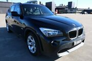 2011 BMW X1 E84 MY11 sDrive18i Steptronic Black 6 Speed Sports Automatic Wagon Sydney City Inner Sydney Preview
