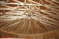 "I need help putting up trusses and a metal roof. """"Morell"""""
