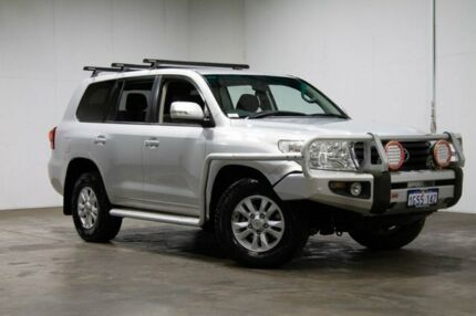 2013 Toyota Landcruiser VDJ200R MY13 GXL Silver 6 Speed Sports Automatic Wagon Welshpool Canning Area Preview