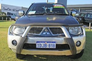 2010 Mitsubishi Triton MN MY11 GLX-R Double Cab Grey 5 Speed Sports Automatic Utility Pearsall Wanneroo Area Preview