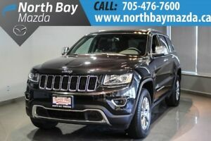 2016 Jeep Grand Cherokee Limited + Leather + 4X4 + Heated Seats