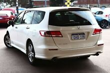 2010 Honda Odyssey 4th Gen MY10 Luxury White 5 Speed Sports Automatic Wagon Northbridge Perth City Preview