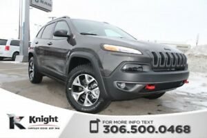 2018 Jeep Cherokee Trailhawk Leather Plus 4x4 V6 | Heated and Ve