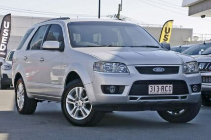 2010 Ford Territory SY Mkii TS Silver 4 Speed Sports Automatic Wagon Mount Gravatt Brisbane South East Preview