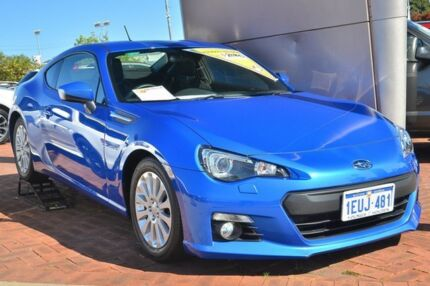 2013 Subaru BRZ MY14 Blue 6 Speed Manual Coupe Victoria Park Victoria Park Area Preview