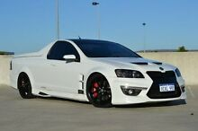 2009 Holden Special Vehicles Maloo E Series MY09 R8 White 6 Speed Manual Utility Midland Swan Area Preview