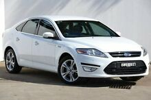 2012 Ford Mondeo MC Zetec PwrShift EcoBoost White 6 Speed Sports Automatic Dual Clutch Hatchback Blacktown Blacktown Area Preview